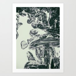 CRYSTALMUSH// Art Print