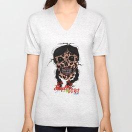 Skull-N-Bows Unisex V-Neck
