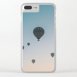 Cappadocia Sunrise Clear iPhone Case