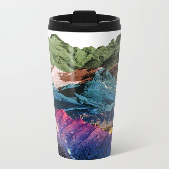 Dream Nature MOUNTAINS Metal Travel Mug