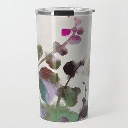 floral abstract summer autumn Travel Mug