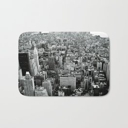 NEW YORK CITY # Black&White Bath Mat