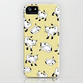 Kitty Corner iPhone Case