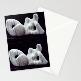 Supine by Shimon Drory Stationery Cards
