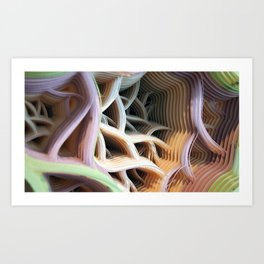 Patiflasmic Plasmatic Gestation Movement #1 Art Print