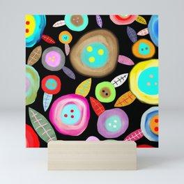 Ruth Fitta Schulz - Watercolour Floral Honey moon romantic and sweet Mini Art Print