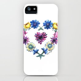 Lovely Flowers iPhone Case