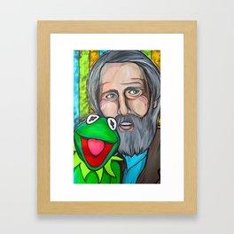 Jim Henson Framed Art Print