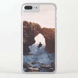 PLAYGROUND UNIVERSE Clear iPhone Case