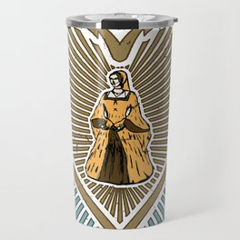 Queen of hearts not heads Travel Mug