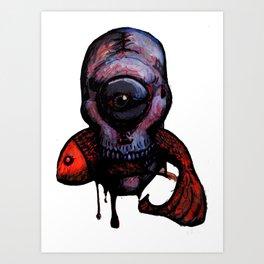 Strange Things Art Print