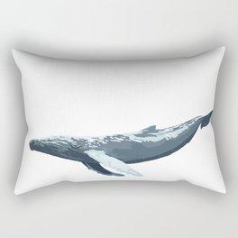 Galactic Whale Rectangular Pillow