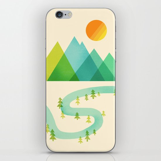 Bend in the River iPhone Skin