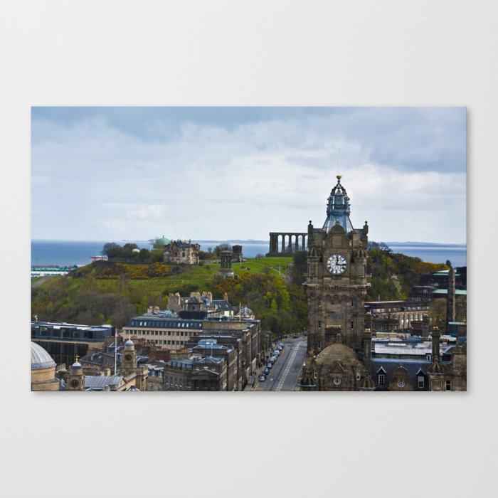 287 Steps of View Canvas Print