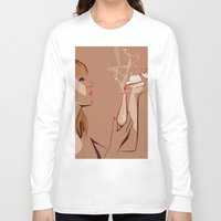 ursula Long Sleeve T-shirts featuring Ursula by Elena Medero