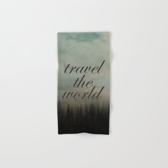 Travel the world Hand & Bath Towel