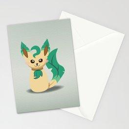 Evolution Bobbles - Leafeon Stationery Cards