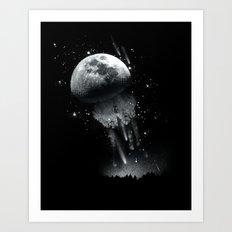 Jellymoon Art Print