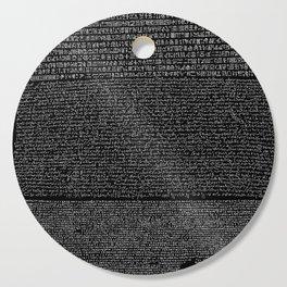 Pierre de Rosette  / Rosetta Stone Cutting Board