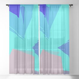 Dream Journal Sheer Curtain