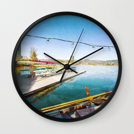 Lake Merritt Gondola Wall Clock