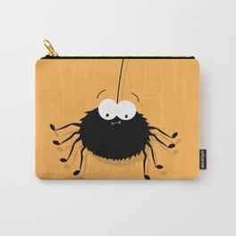 Big Black Spider Carry-All Pouch