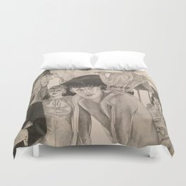 """Poster """"Fifty Shades Darker"""" Duvet Cover"""