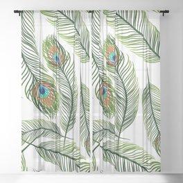 Animal Sheer Curtain