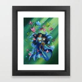 Mariposa the Butterfly Fairy Framed Art Print