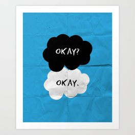 Okay Art Print