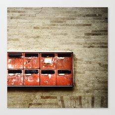 little boxes Canvas Print