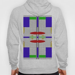 Shades of grey with different colors Hoody