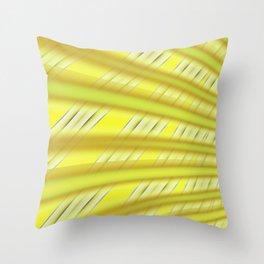 Fractal Play in Citruslicious Throw Pillow