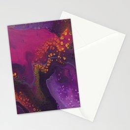 Strange galaxy Stationery Cards