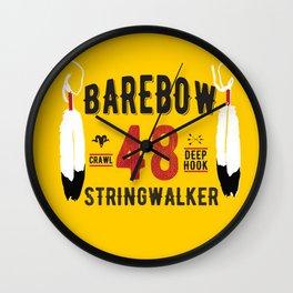 - BAREBOW - STRINGWALKER - CRAWL - DEEP HOOK - 48 (Forever) Wall Clock