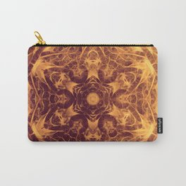 Abstract earth tone mandala Carry-All Pouch