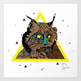 Linx  Art Print