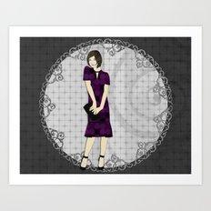 Samantha Art Print