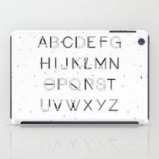 Craft Font iPad Case