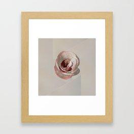 Waiting for love. Framed Art Print
