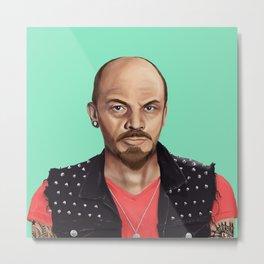 Hipstory -  Lenin Metal Print