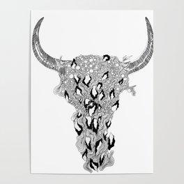 Io, Zeus & Hera Poster