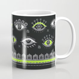 Eye Spy Charcoal Coffee Mug