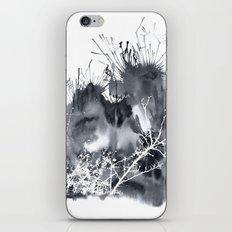 grey sky iPhone & iPod Skin