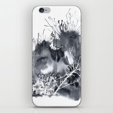 grey sky iPhone Skin