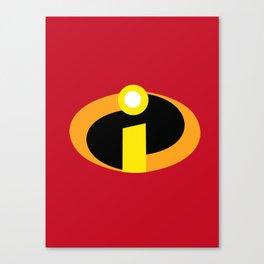 Incredibles Canvas Print