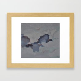 Free birds Framed Art Print