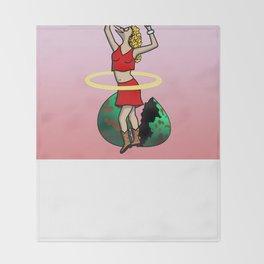 The Num Nums - Kenzi Throw Blanket