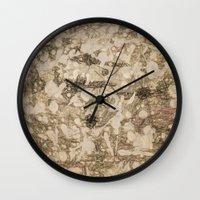 da vinci Wall Clocks featuring da Vinci Angels by Bruce Stanfield