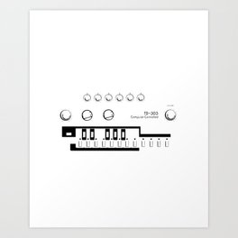 tb-303 Art Print